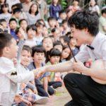 バンコクの小学校でショーをしてきました