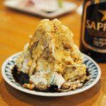 京都・四条烏丸の昭和レトロ酒場「居酒屋ニューシンマチ」のマウンテンポテサラは要チェック
