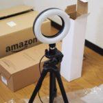これで3000円台?オンラインレッスンのために「Amzdeal LEDリングライト」を買ってみたら大正解
